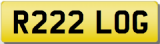 LOGAN R Private Registration Cherished Number Plate LOG LOGAN